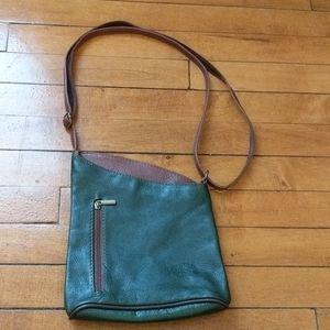 Women's vintage Italian leather purse